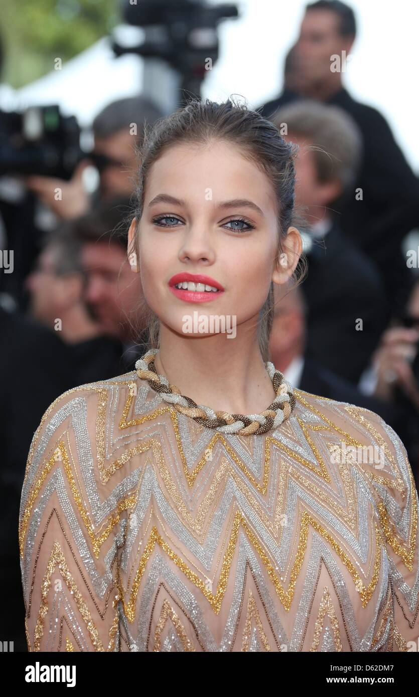 Hungarian model Barbara Palvin arrives at the premiere of ...
