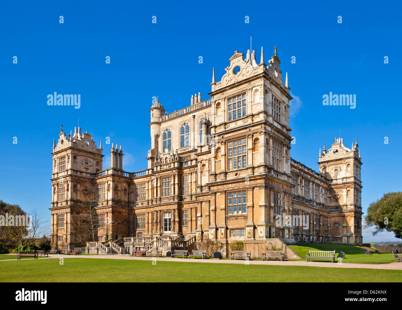 Wollaton Hall  museum  Wollaton Park Nottingham Nottinghamshire England UK GB EU Europe - Stock Image