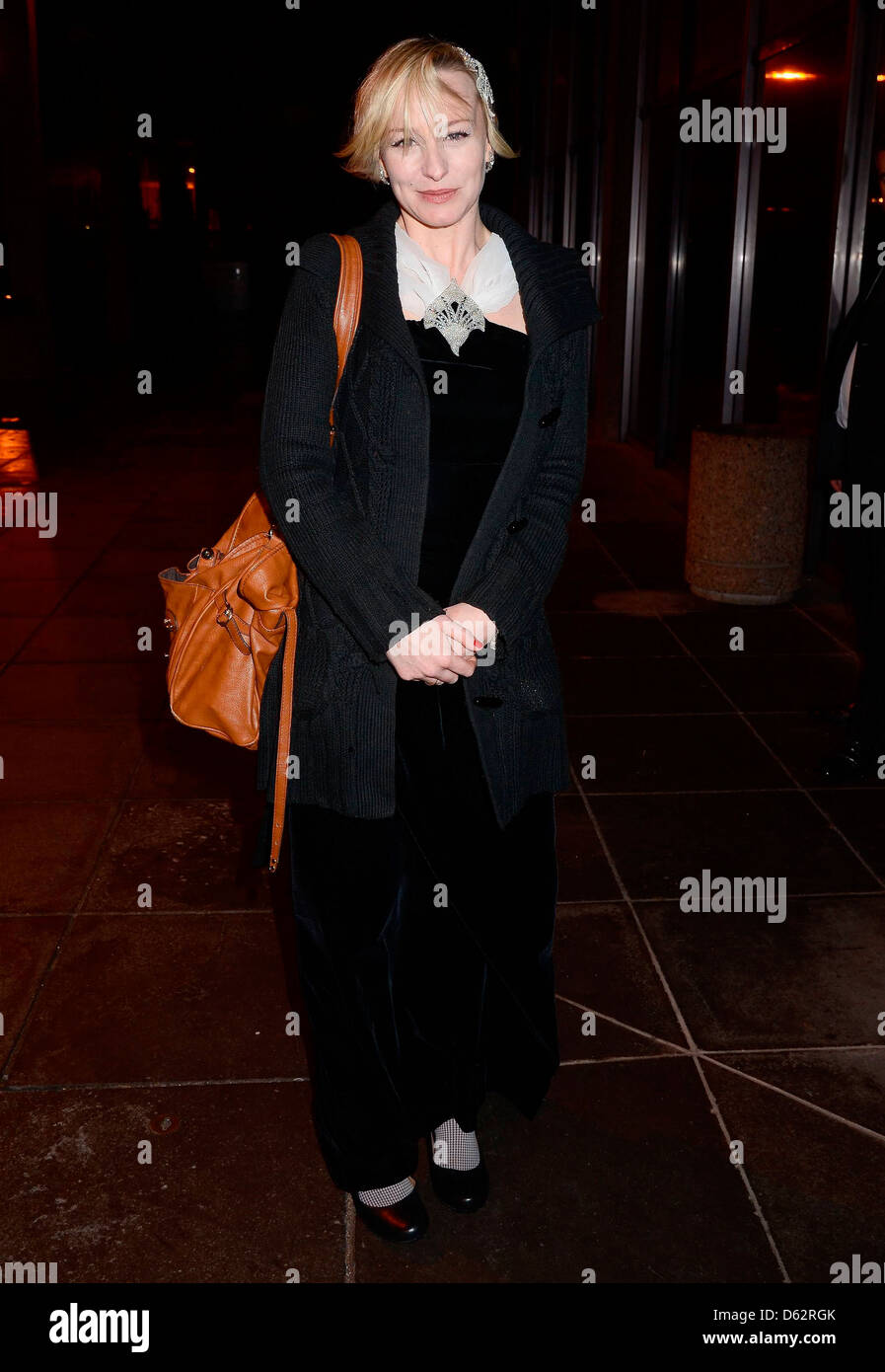 Cathy Davey Celebrity guests appears on 'The Late Late Show'Arrivals Dublin, Ireland - Stock Image