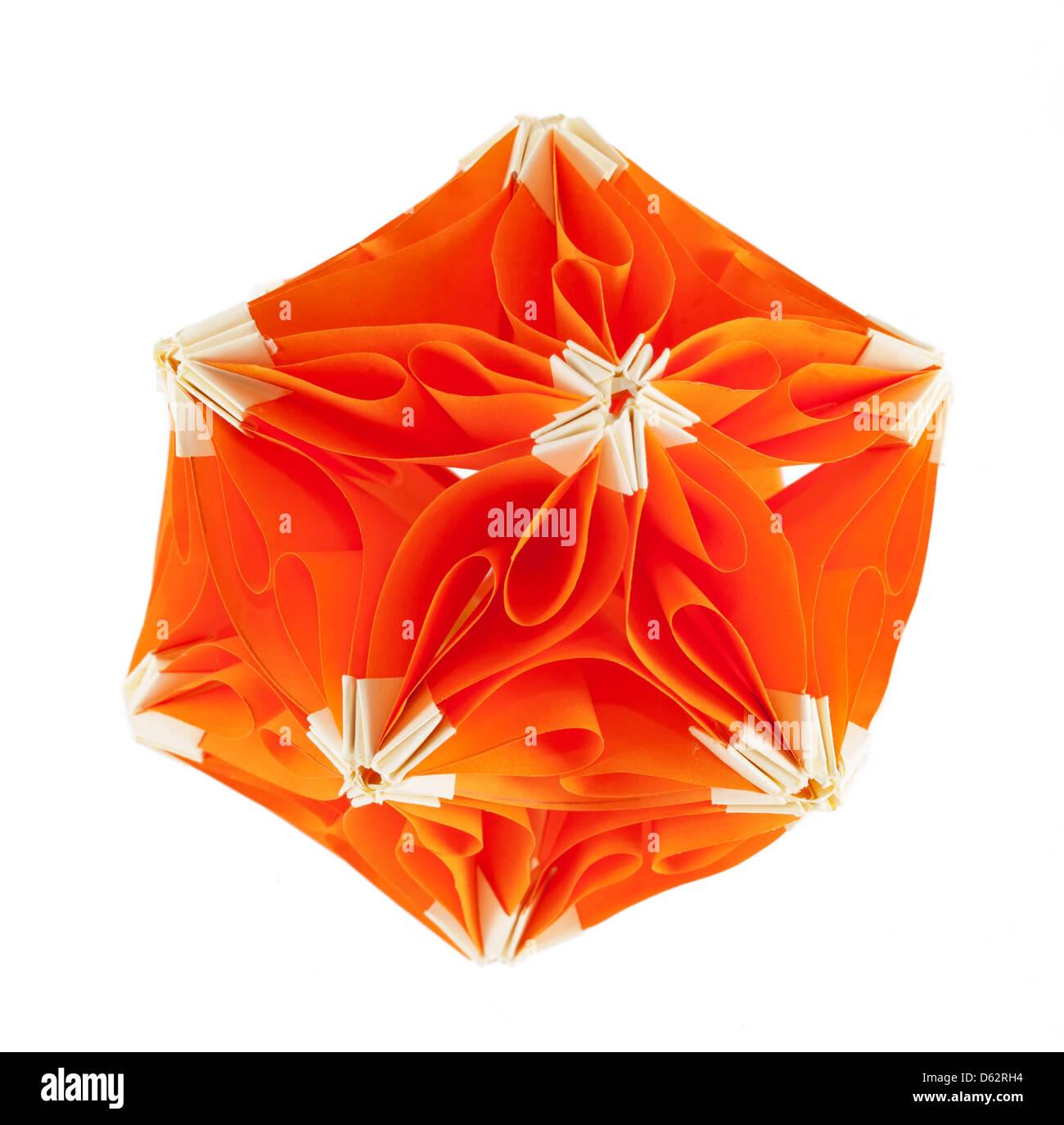 Origami Paper Flower Kusudama Stock Photos Origami Paper Flower