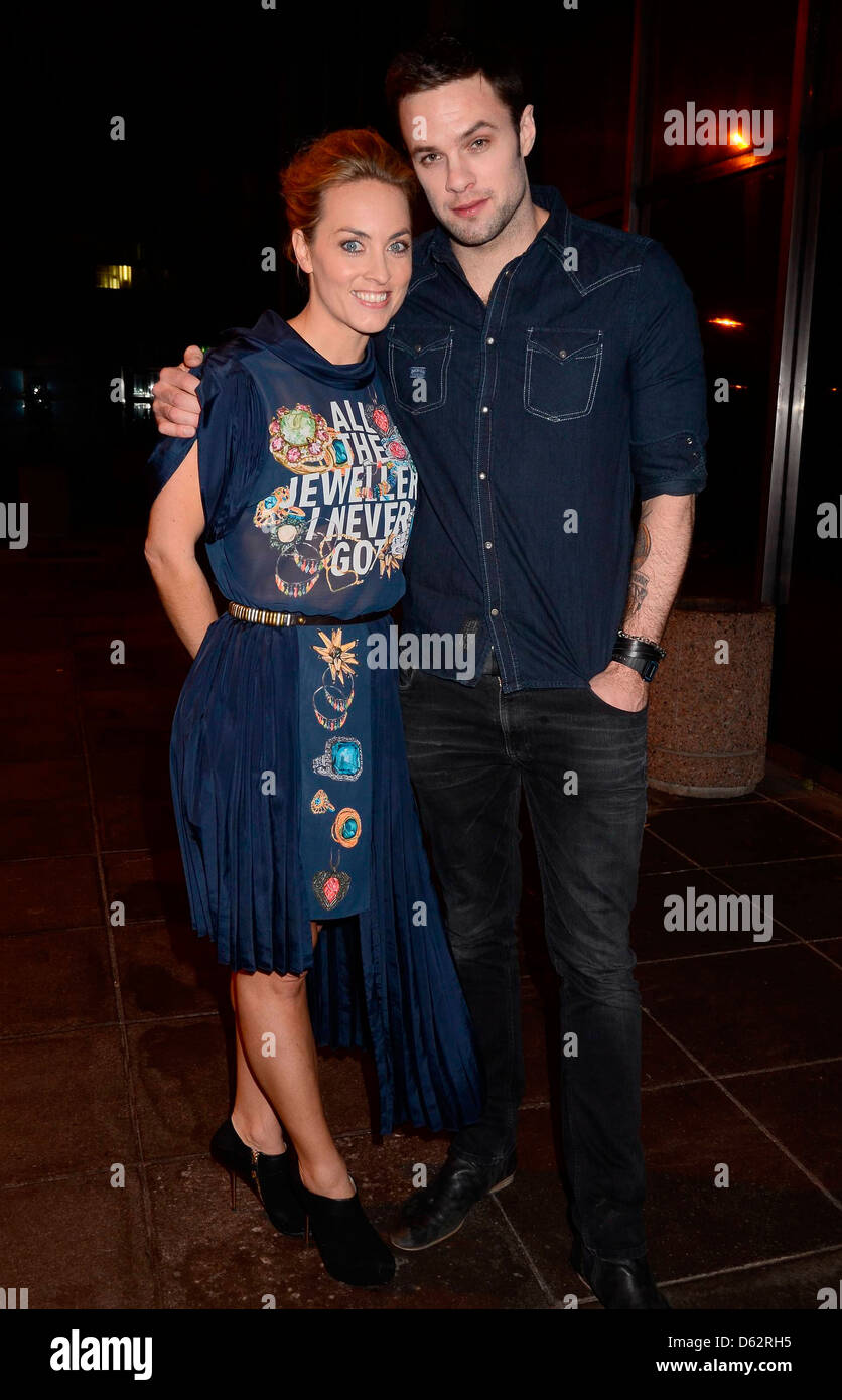 Kathryn Thomas Celebrity guests appears on 'The Late Late Show'Arrivals Dublin, Ireland - Stock Image