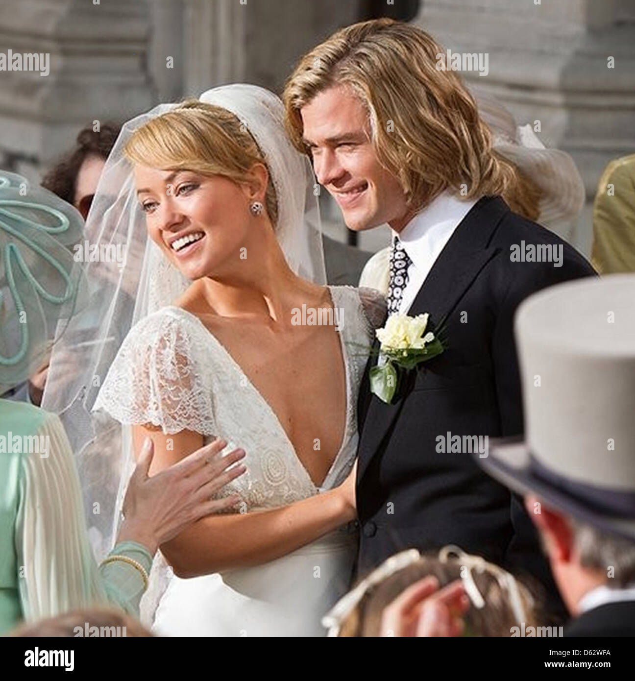 Rush 2013 chris hemsworth stock photos rush 2013 chris hemsworth rush 2013 universal pictures film with chris hemsworth as james hunt and olivia wilde as suzy voltagebd Image collections
