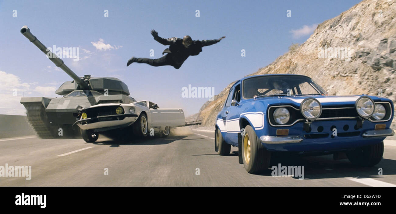 FAST AND FURIOUS 2013 Universal Pictures film - Stock Image