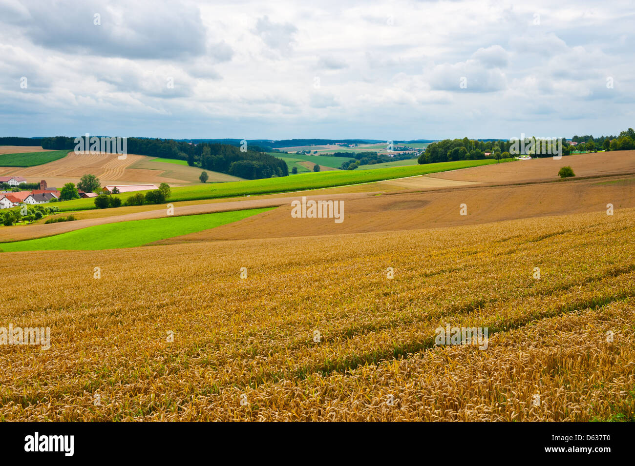 Village - Stock Image