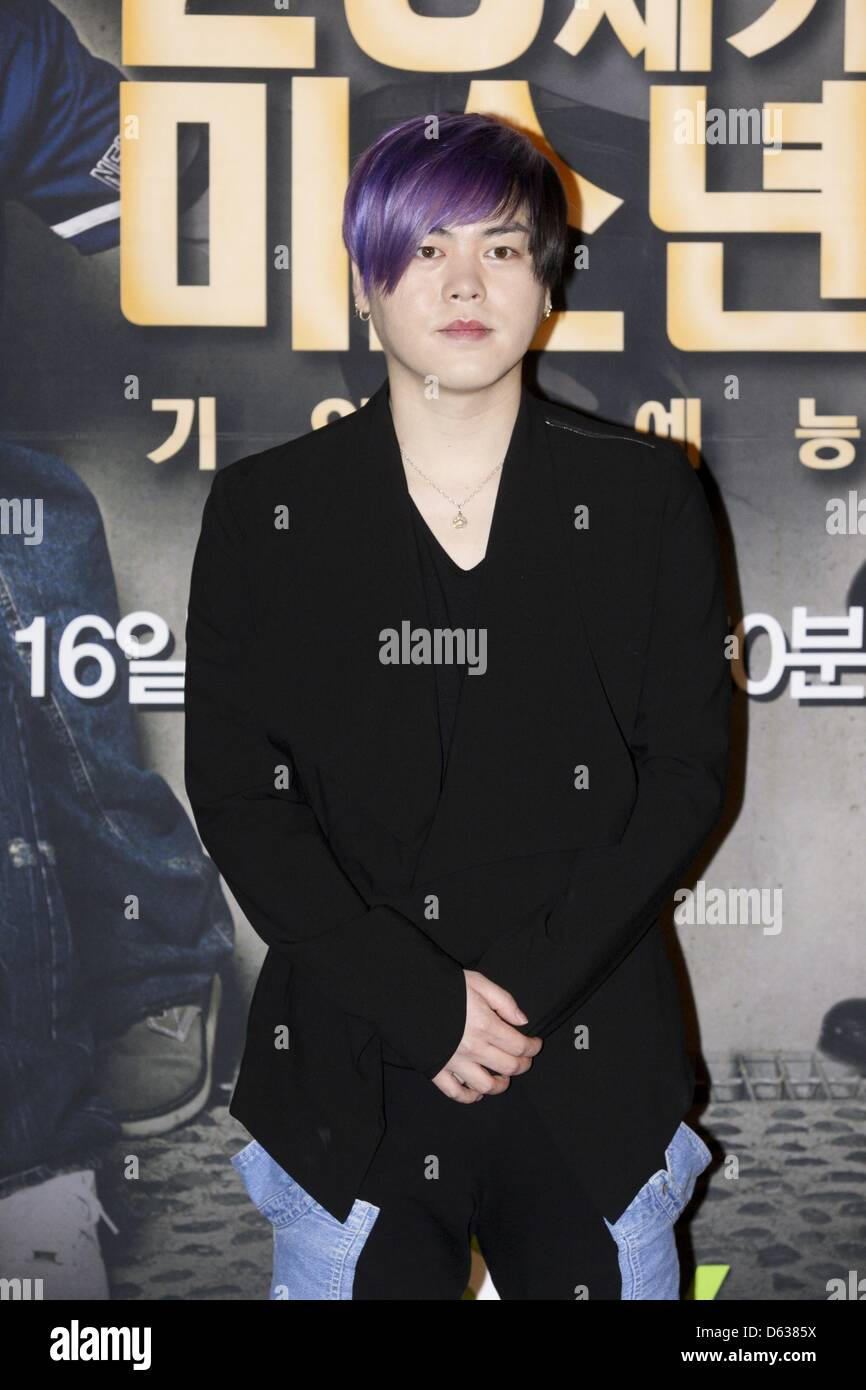 Moon Hee Jun Attended Press Conference Of Their New Tv Show In Seoul Stock Photo Alamy