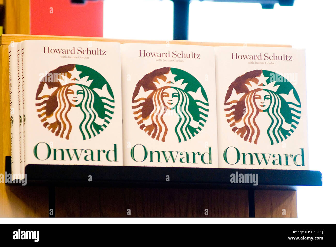 Atmosphere Howard Schultz, CEO of Starbucks, book 'Onward: How Starbucks  Fought for Its Life without Losing Its Soul' Chicago,