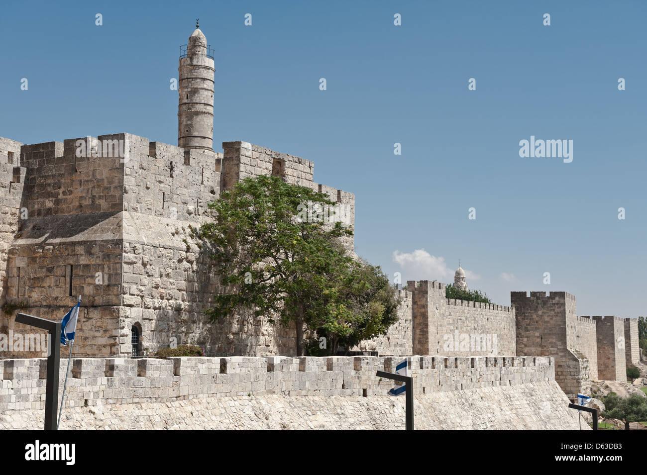 Ancient Walls - Stock Image