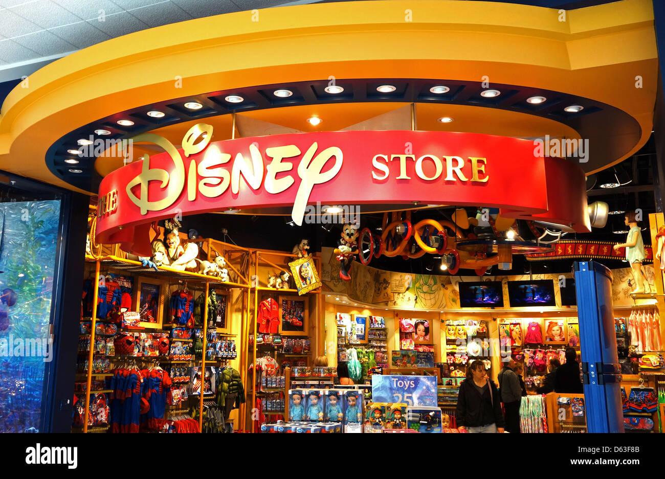 A Disney store in Cribbs Causeway near Bristol, UK Stock ...  A Disney store ...