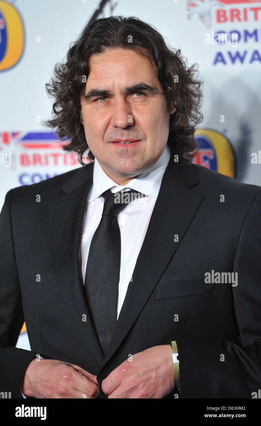 Mickey Flannigan British Comedy Awards held at the Fountain Studios - Arrivals. London, England - 16.12.11 - Stock Image