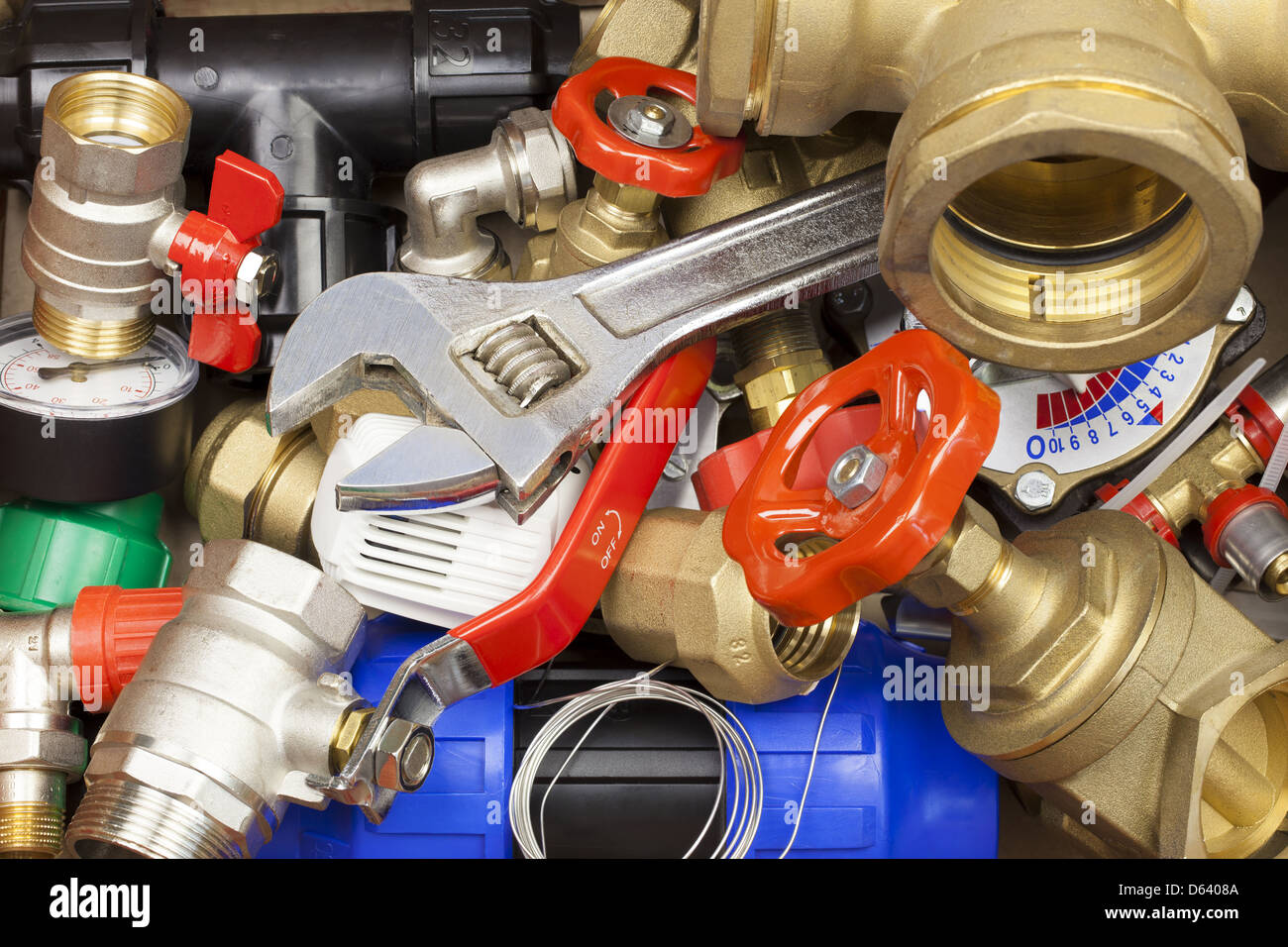 Plumbing High Resolution Stock Photography and Images - Alamy