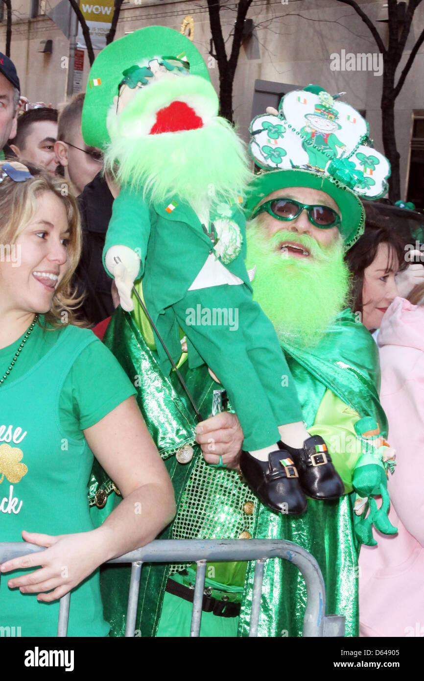 Atmosphere 250th Annual St. Patrick's Day Parade New York City, USA - Stock Image
