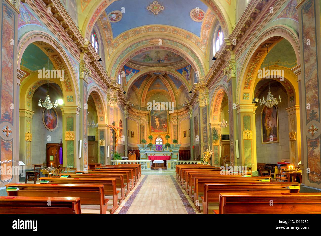 Small Church Interior Stock Photos Small Church Interior Stock
