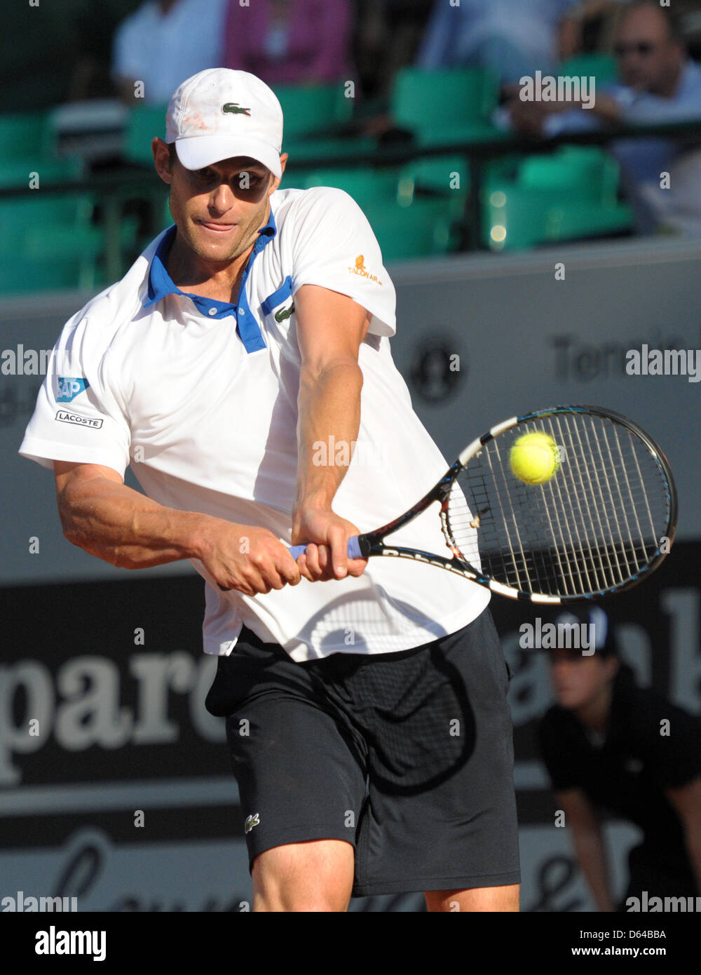 fe88b3013591fb US tennis player Andy Roddick hits the ball during the match against Soeda  from Japan at