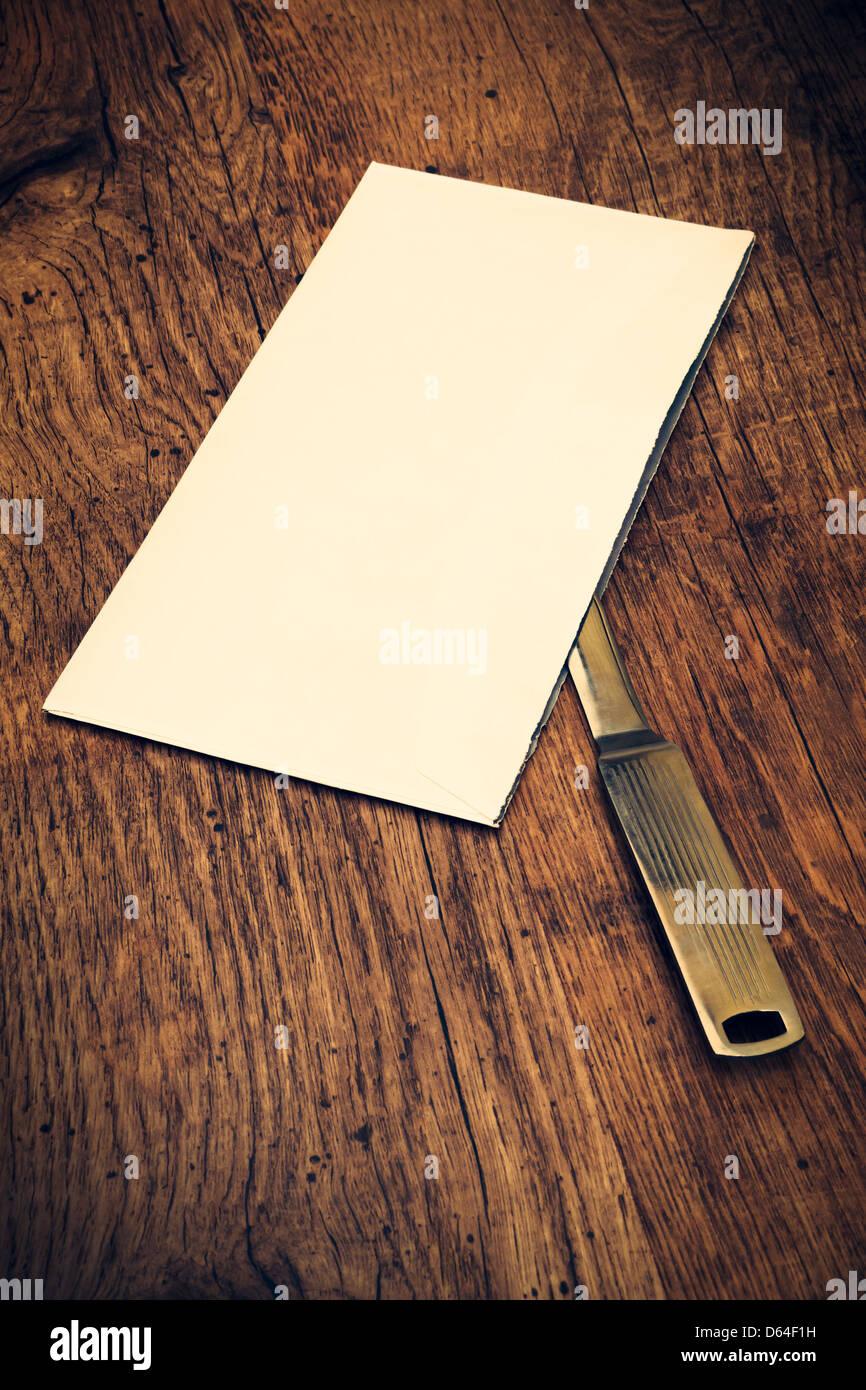 Letter Opener - Stock Image