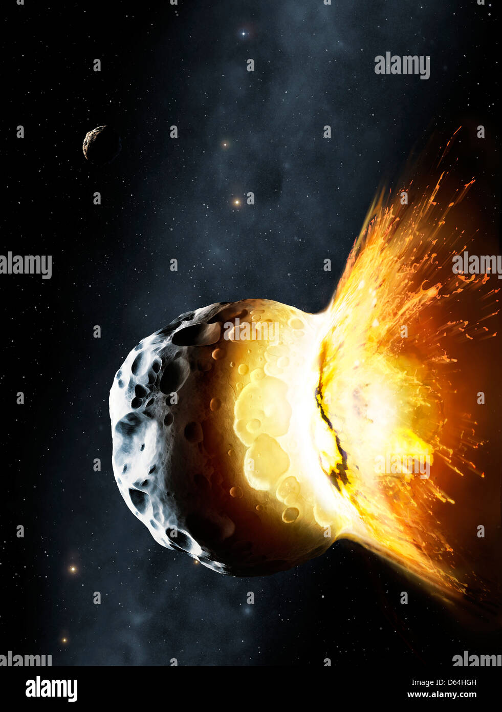 Space Collision Stock Photos Space Collision Stock Images