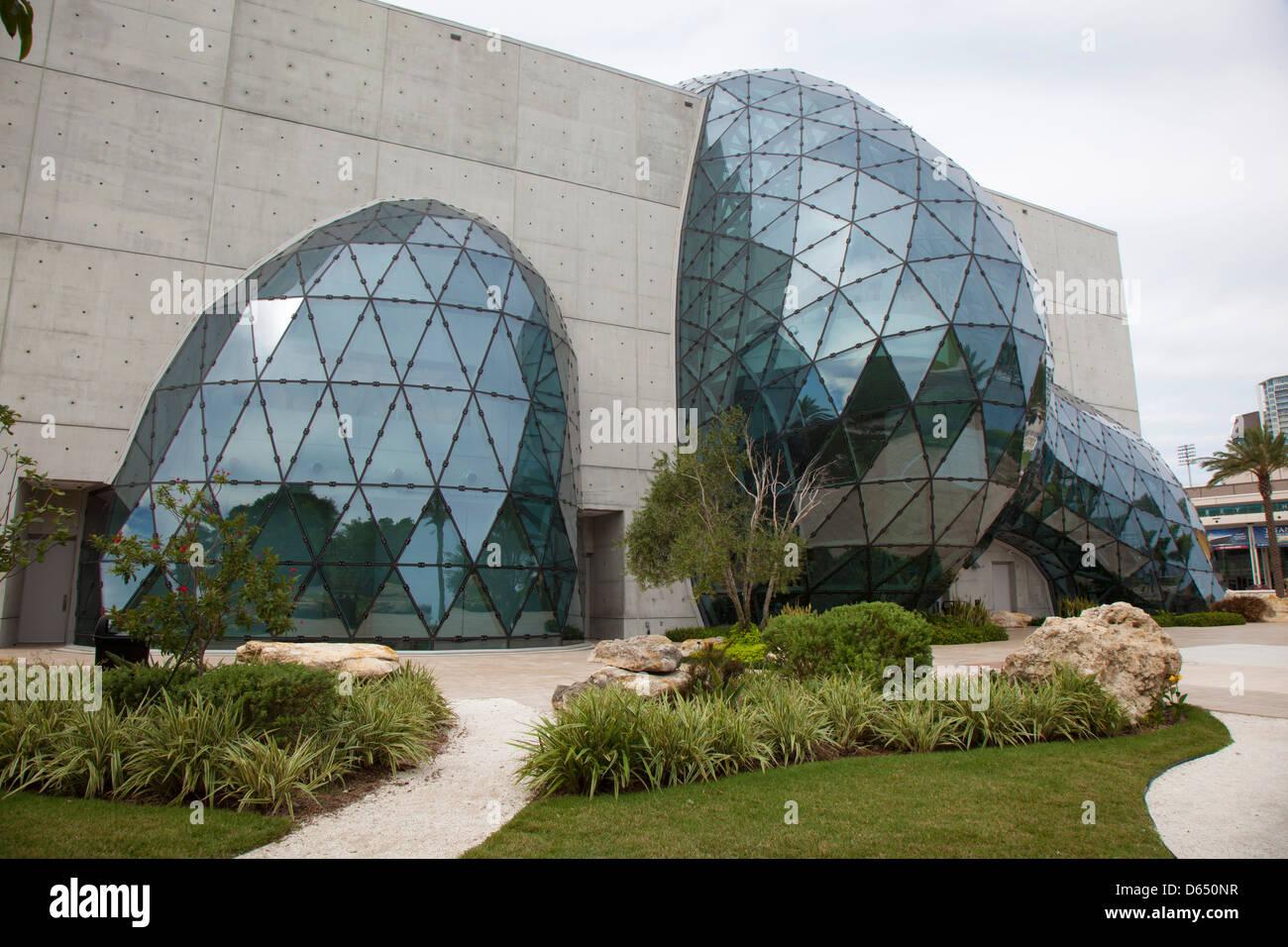 Dali Museum Modern Architecture St Petersburg Florida
