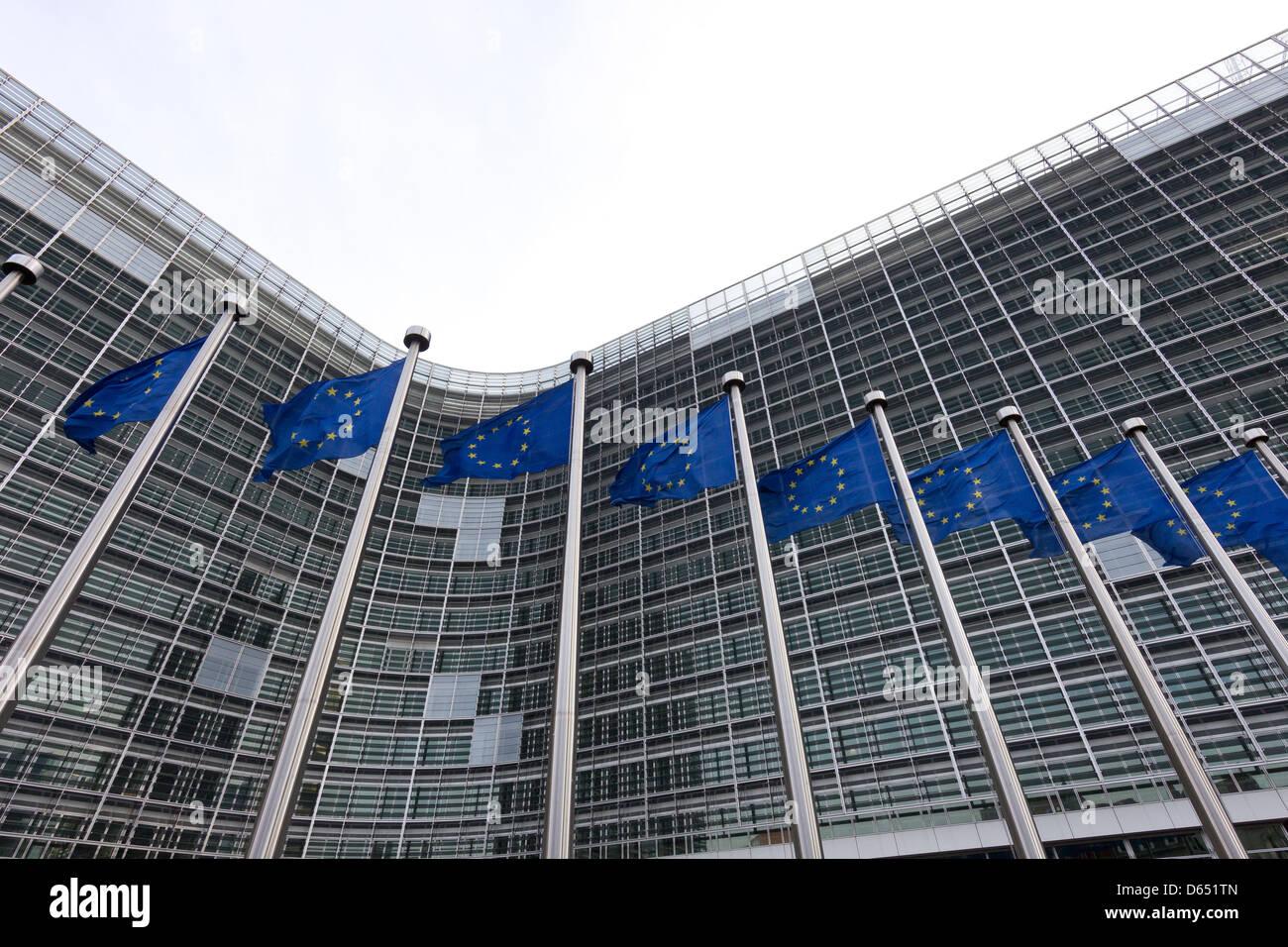european flags - Stock Image