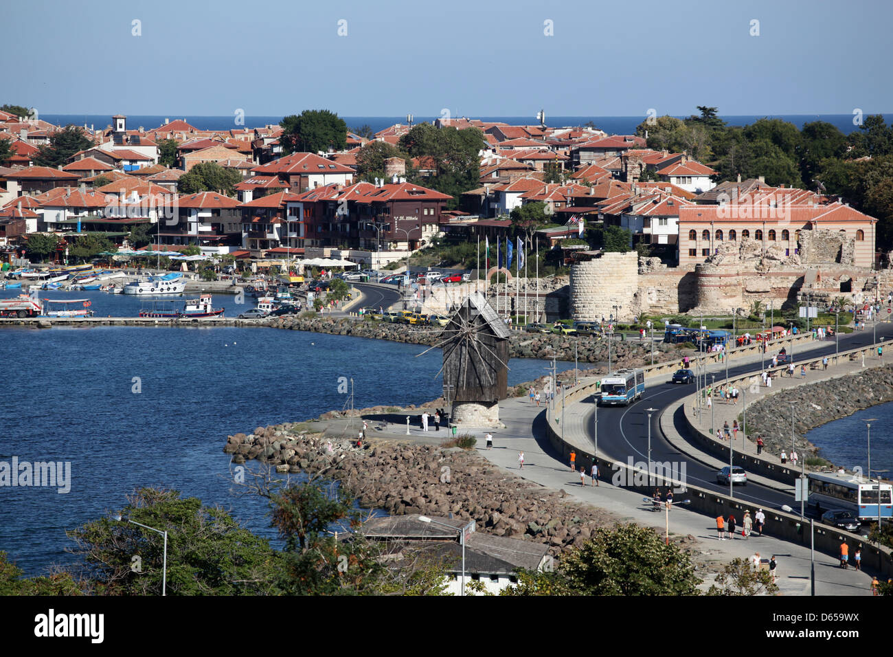 Old Nessebar city, Bulgaria - Stock Image
