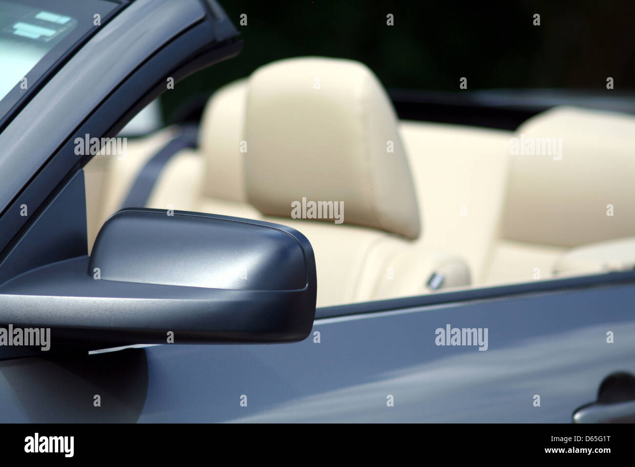 car,sports car,convertible - Stock Image