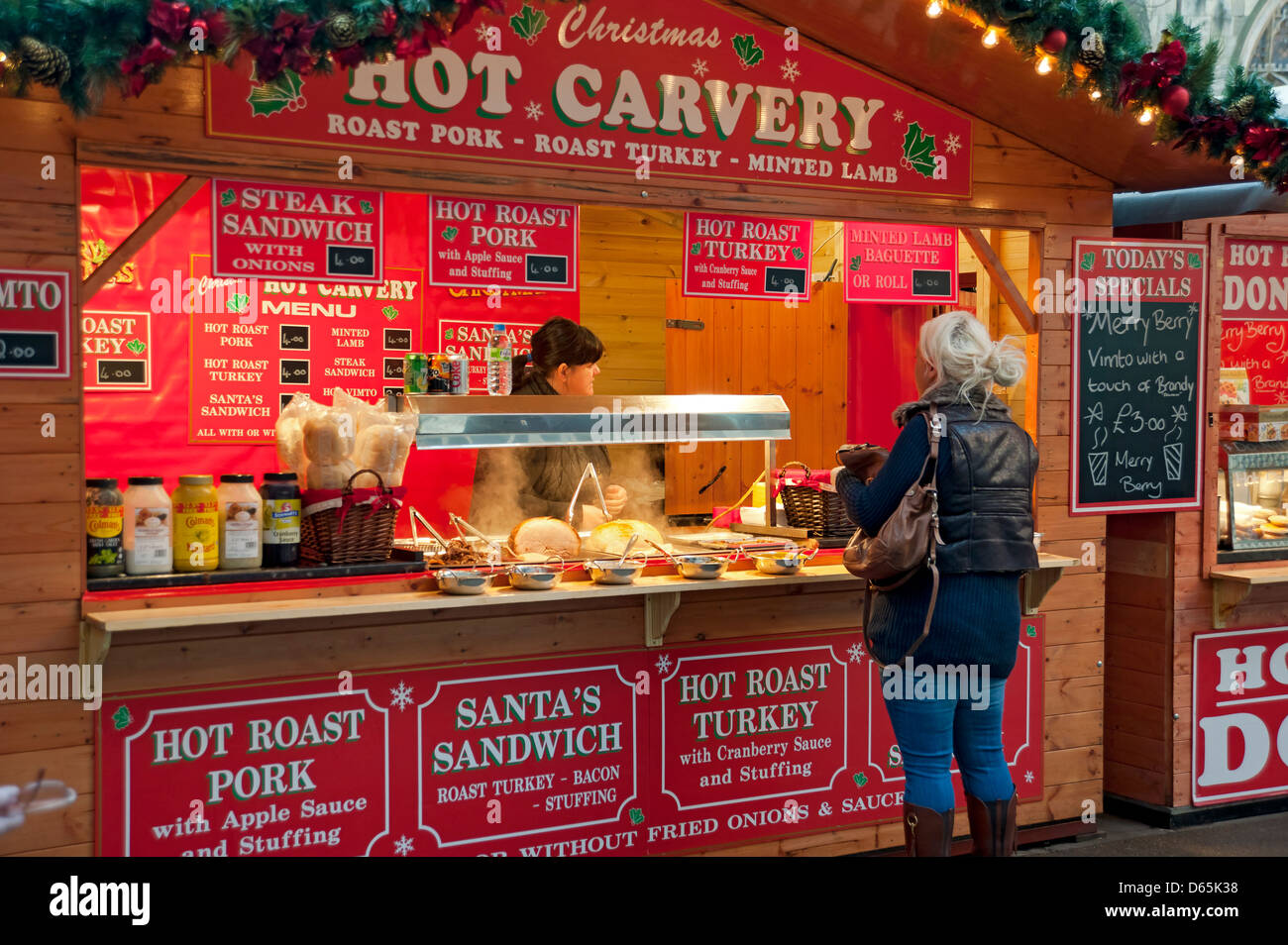 Hot Food Stall Stock Photos & Hot Food Stall Stock Images - Alamy