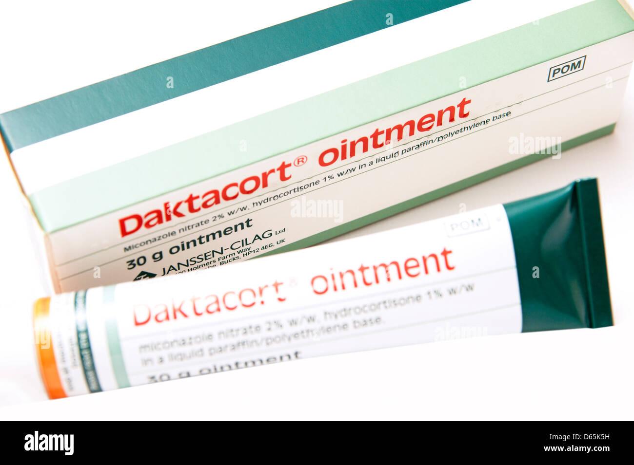Hydrocortisone Cream Stock Photos & Hydrocortisone Cream