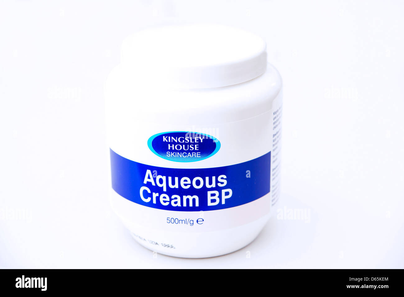 Aqueous; cream; highly; moisturising; moisturiser; moisturises; protective; hydrating; hydrates; protects; treatment; - Stock Image
