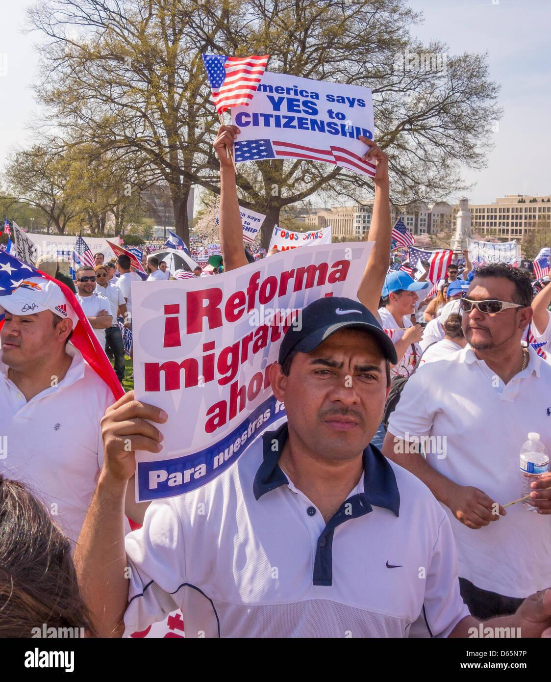 Immigration Reform News: Washington Dc Usa 10th March Stock Photos & Washington Dc