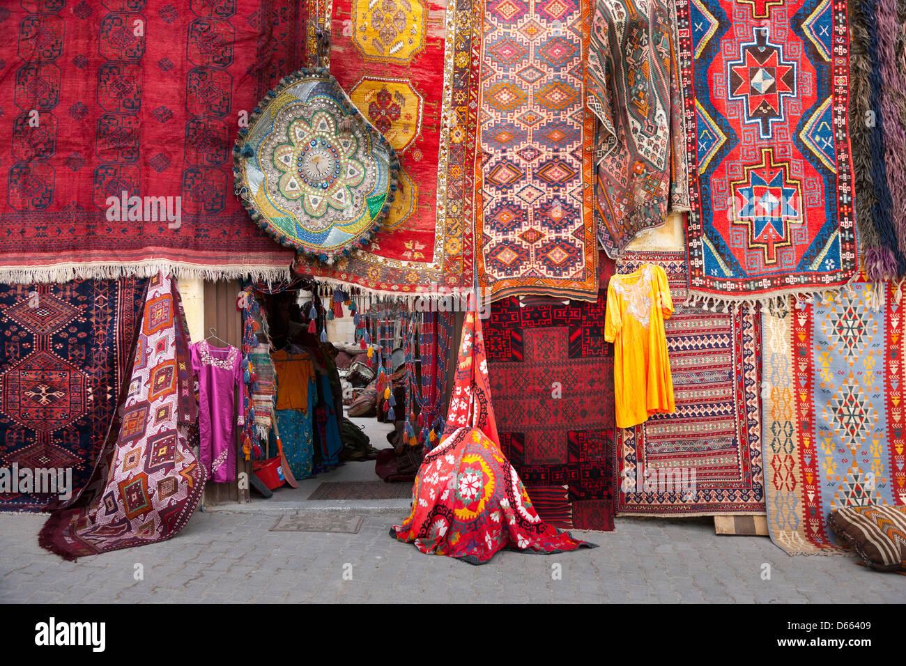Turkish Carpet Shop In Goreme Turkey