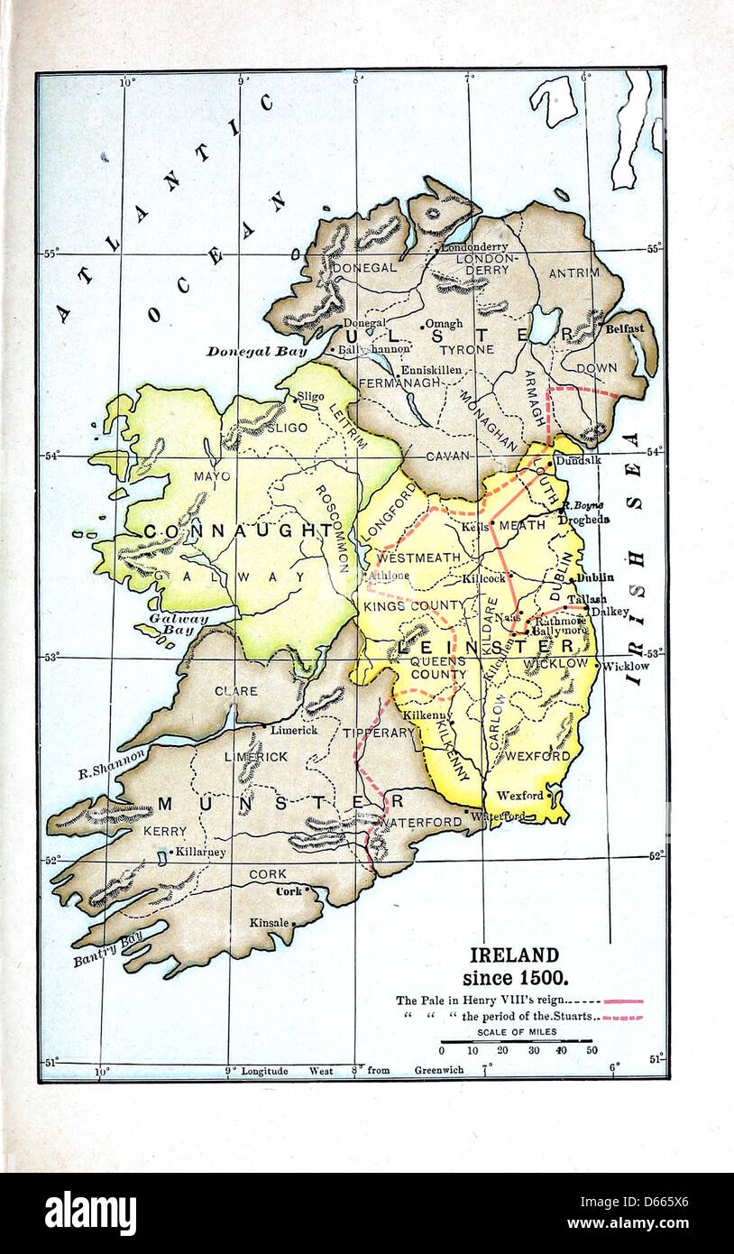 Map Of England In 1500.Ireland 1500 Map Stock Photos Ireland 1500 Map Stock Images Alamy