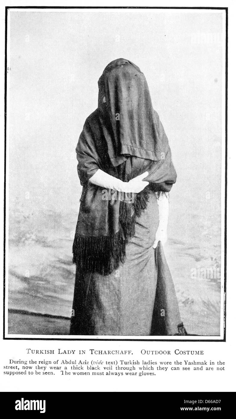 A Turkish woman's European impressions (1913) - Stock Image