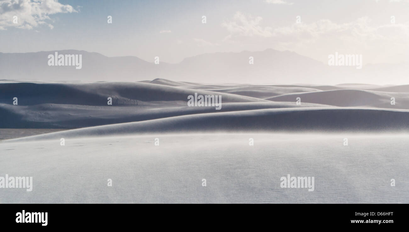 White Sands National Park, New Mexico, USA - Stock Image
