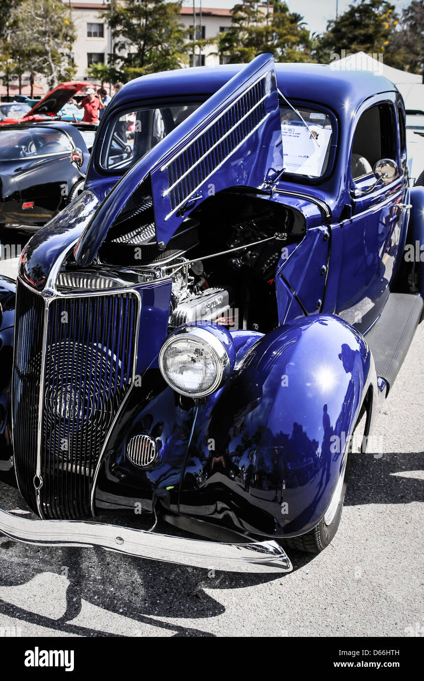 1936 Ford Coupe American Classic Car - Stock Image