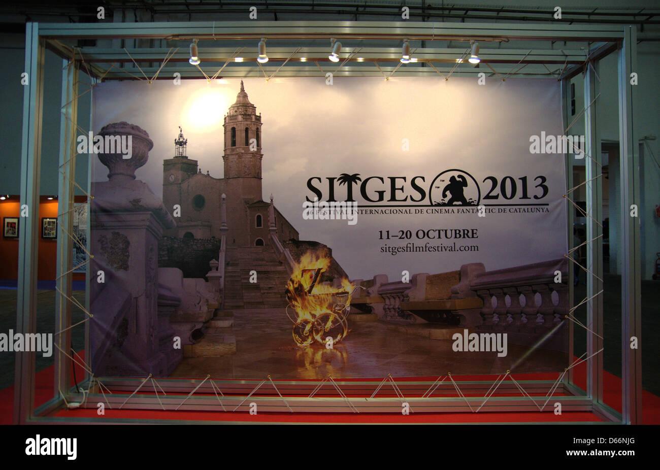 Barcelona, Spain. 12 April 2013. The 31th International Comic Fair of Barcelona (Saló International del Còmic - Stock Image