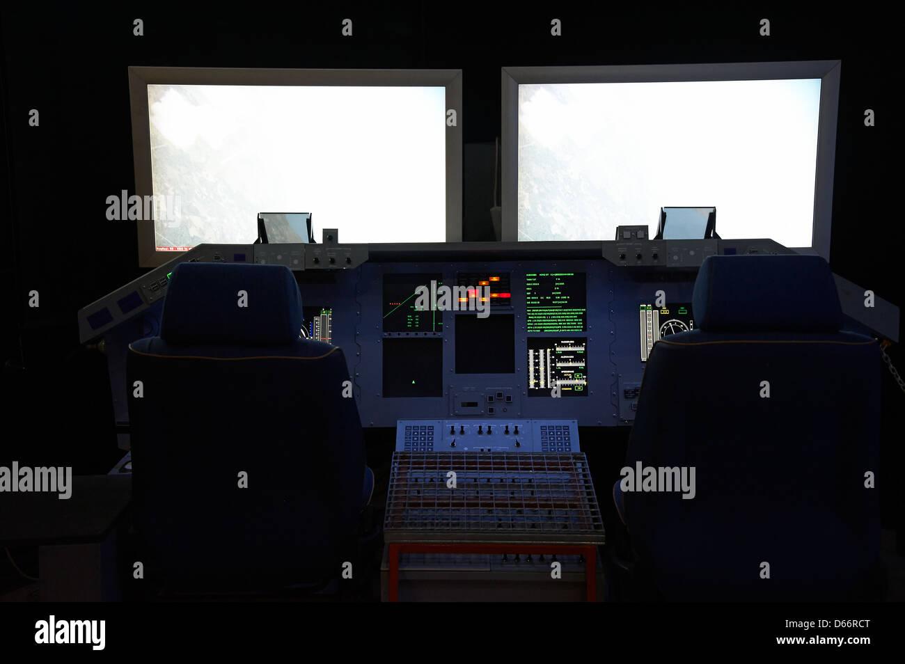 space shuttle cockpit trainer - photo #14