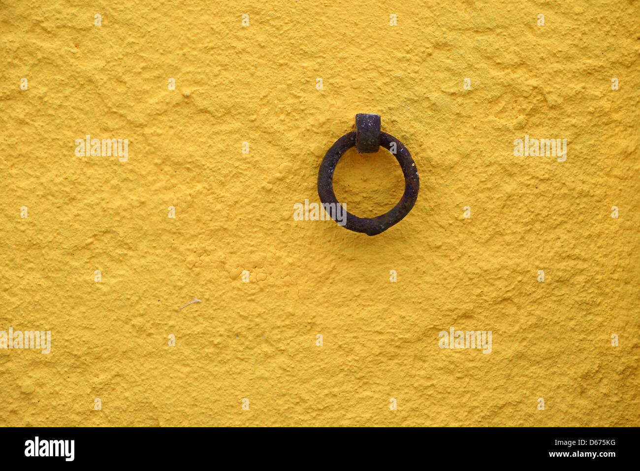 Anchor ring - Stock Image