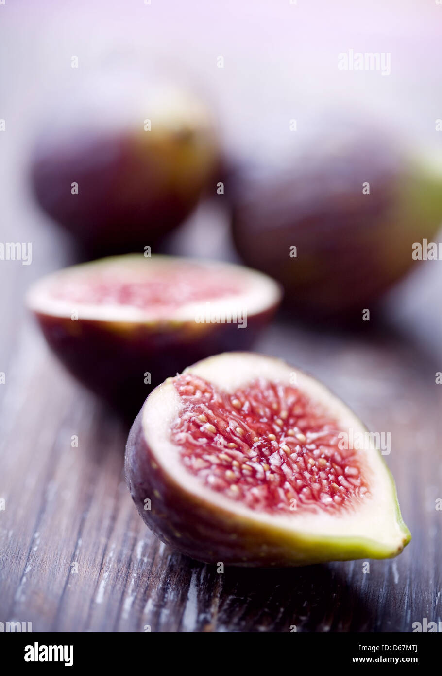 fig,figs,fig half - Stock Image