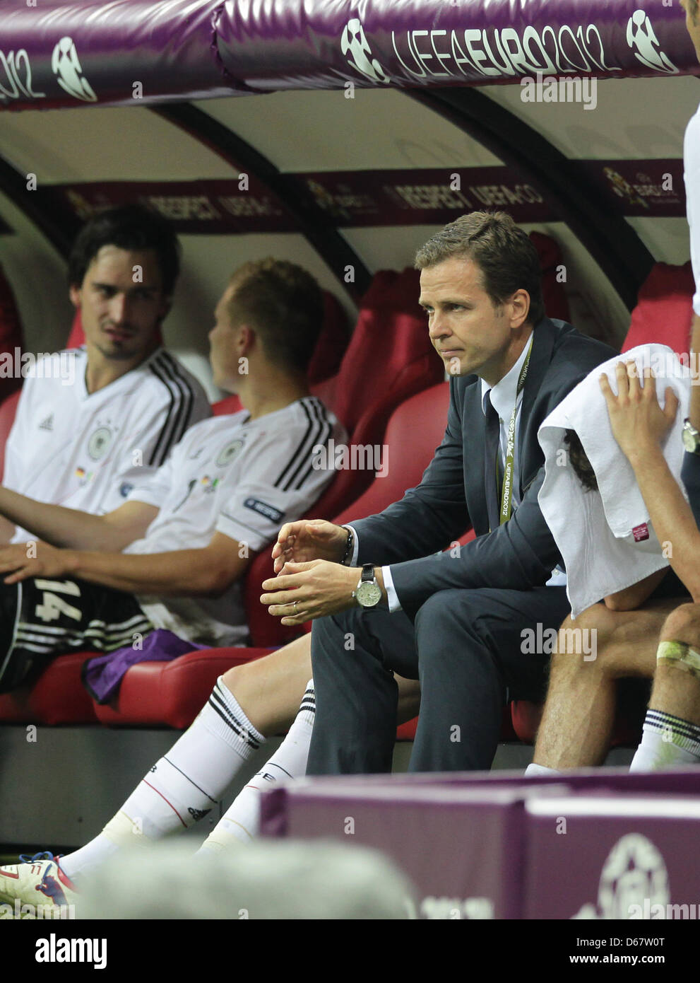 Germany S Team Manager Oliver Bierhoff Sits On The Bench After