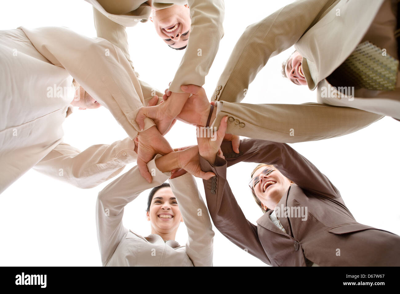 teamwork,team spirit,cooperation - Stock Image
