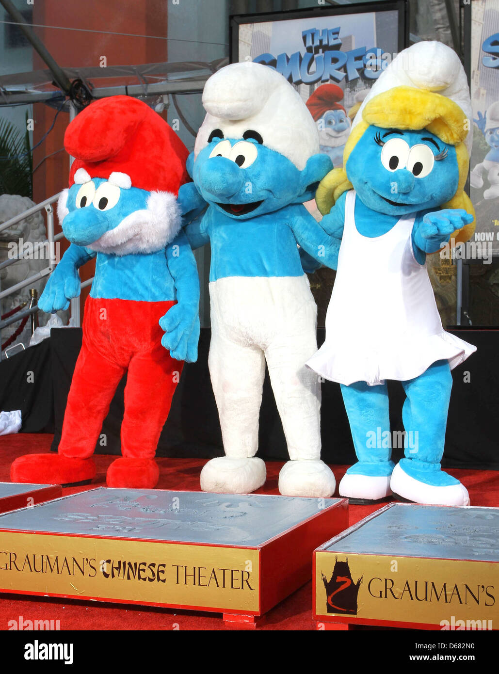 Papa Smurf Stock Photos & Papa Smurf Stock Images - Alamy