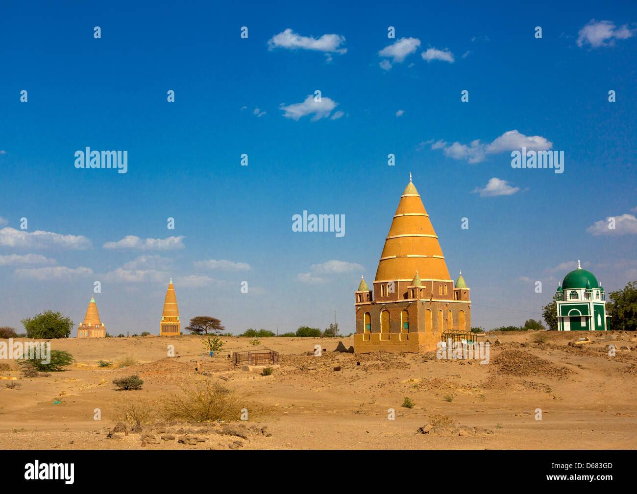 Sufi Shrine, Abu Haraz, Sudan - Stock Image