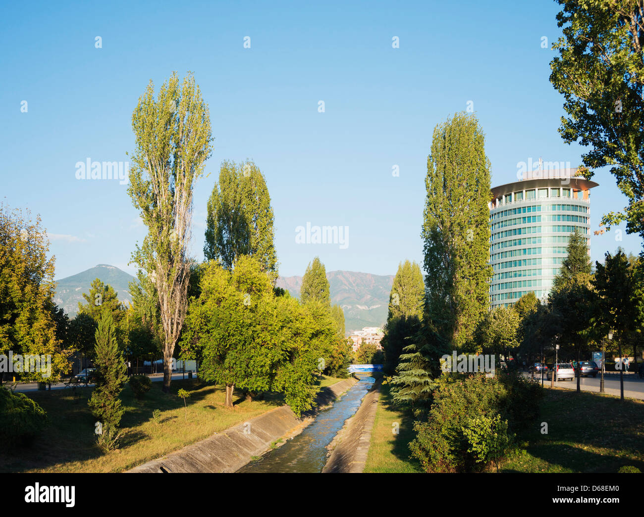Europe, Albania, Tirana - Stock Image