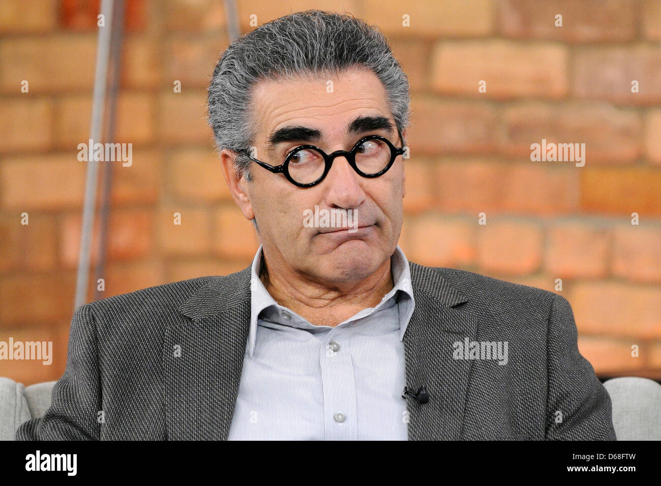 Eugene Levy appears on CTV's The Marilyn Denis Show Toronto, Canada - Stock Image