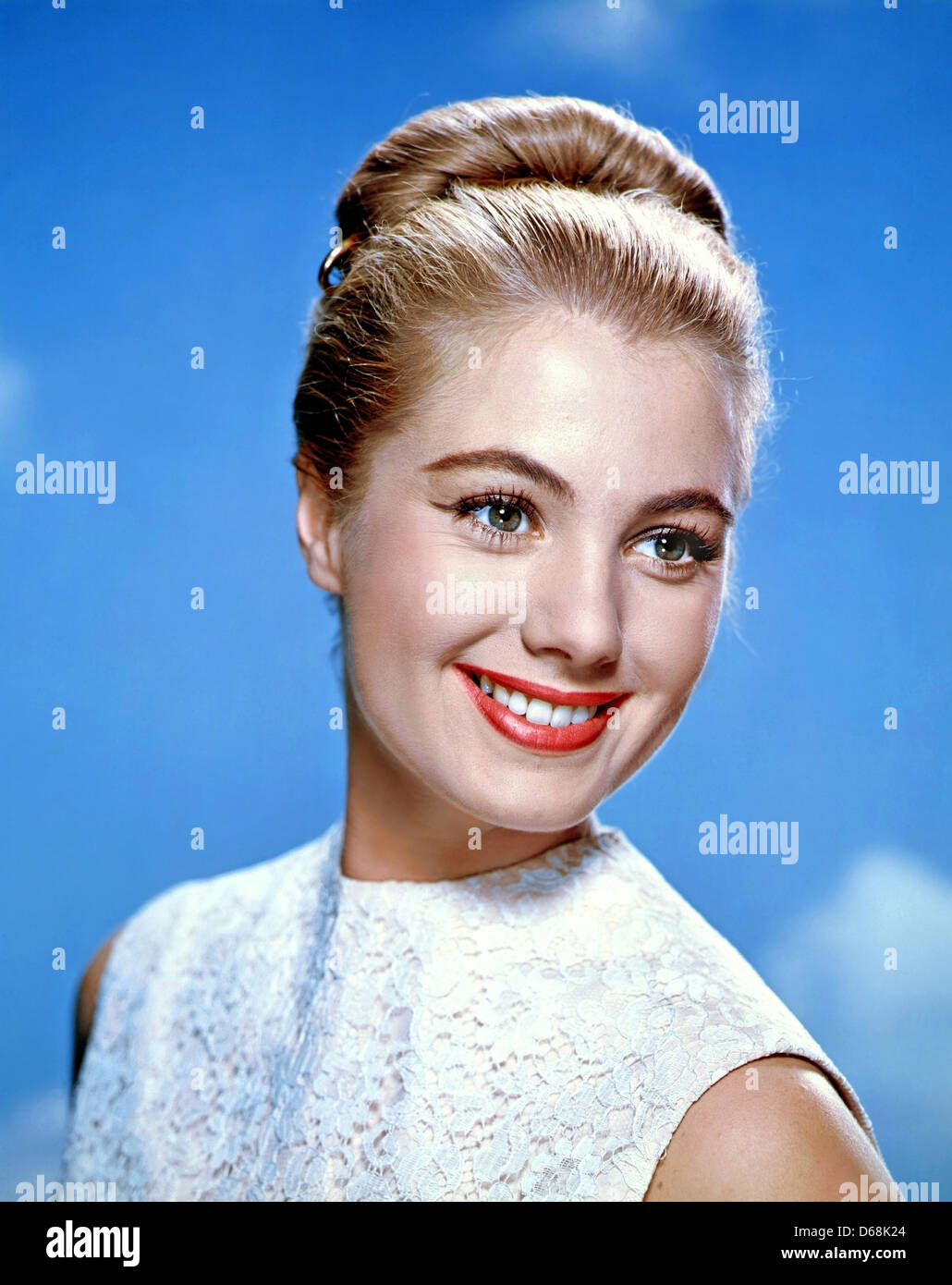 SHIRLEY JONES US film actress about 1956 Stock Photo