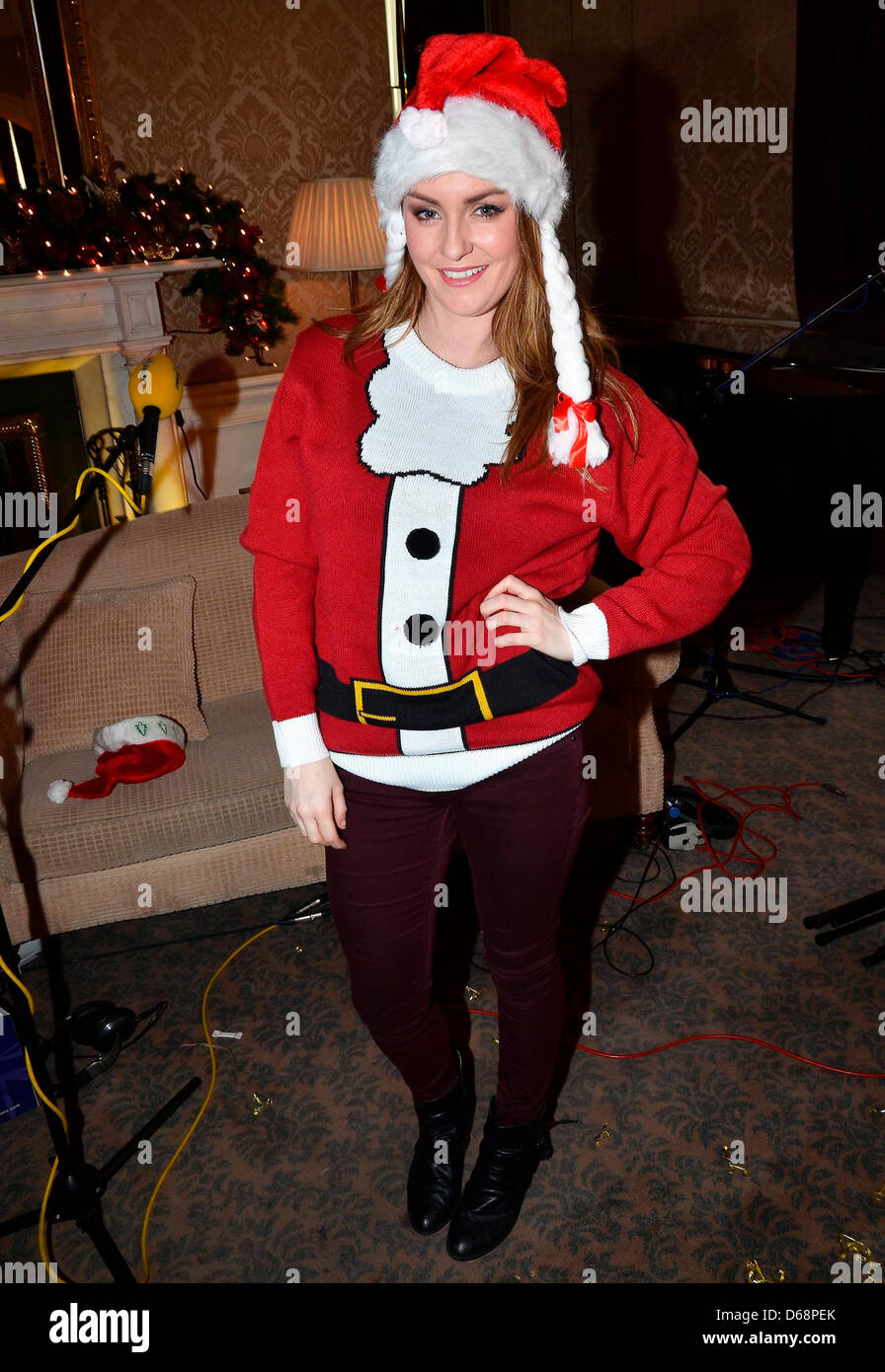 1e9539c6f012 Mairead Farrell Today FM's Christmas Tea Party Show at The Shelbourne Hotel  Dublin, Ireland -