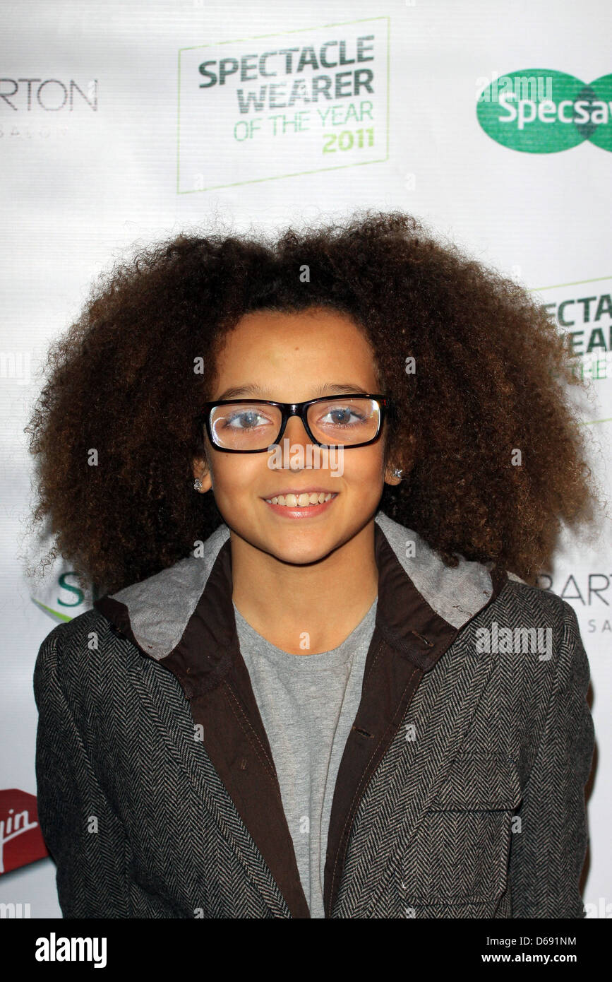 Perri Kiely From Diversity Specsavers Spectacle Wearer Of The Year Awards  At Battersea Power Station Arrivals London