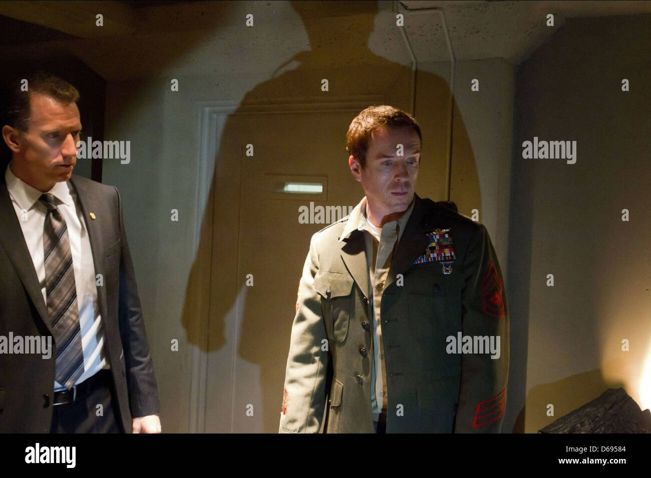 DAMIAN LEWIS HOMELAND (2011) - Stock Image