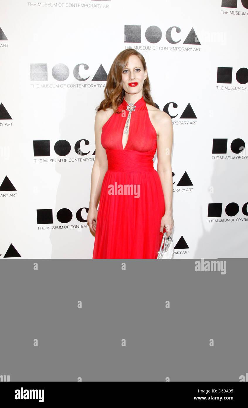 Liz Goldwyn  MOCA Gala: 'An Artist's Life Manifesto' directed by Marina Abramovic at MOCA Grand AvenueArrivals - Stock Image