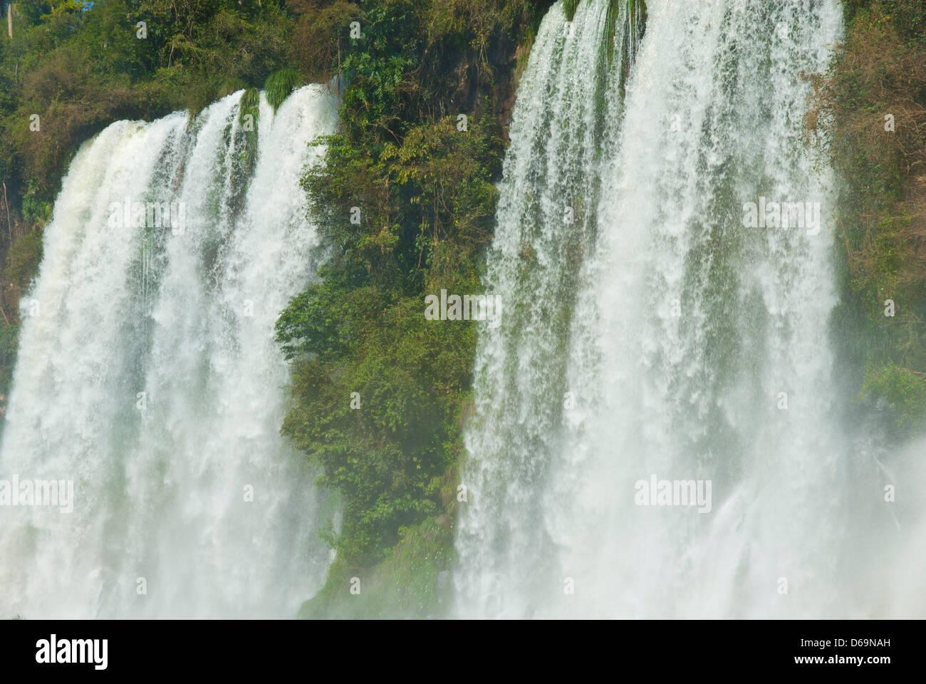 Argentina,Buenos Aires, Iguazu falls - Stock Image