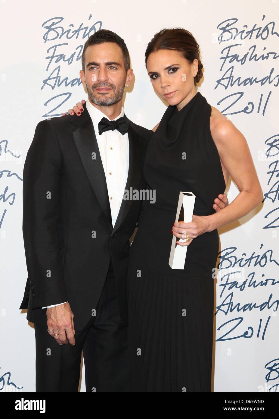 Victoria Beckham, winner of Designer Brand with Marc Jacobs The British  Fashion Awards 2011, d86dcbd7cf80