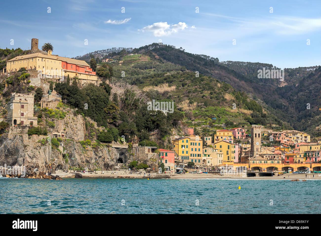 Monterosso al Mare, Cinque Terre, Liguria, Italy Stock Photo
